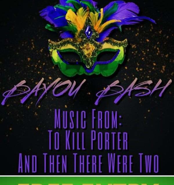 The parade starts with the Mardi Gras Bayou Bash at The Fur Shop | Free entry!